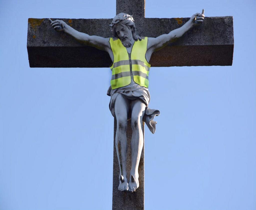 Le Christe en gilet jaune